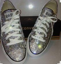Dainty Converse Diamond Crystal Shoes Crystals By Nicole
