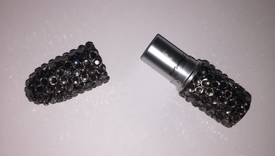 MAC Bedazzled Lipstick In Black Diamond Crystals