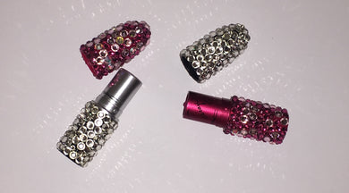 MAC Bedazzled Crystal Lipstick In Rockstar Pink & Crystal