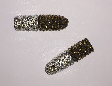 MAC Bedazzled Crystal Lipstick In 24K Gold & Crystal