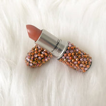 MAC Bedazzled Crystal Lipstick In Rose Gold & Pink