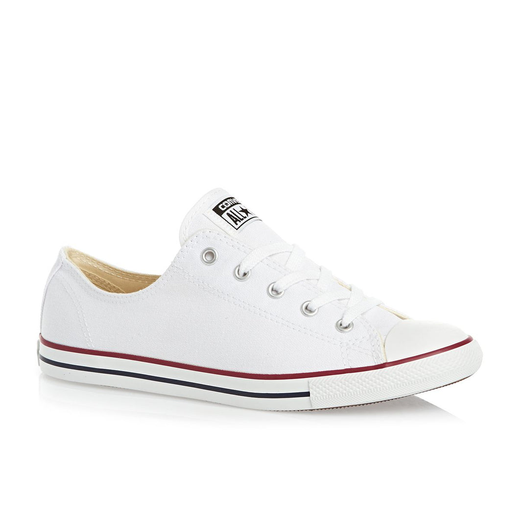 Dainty All Star Converse With AB Crystals