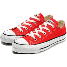All Star Red Converse With Siam Red Crystals