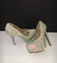 AB Crystal Swarovski Element Diamond Heels