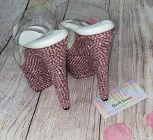 "Dancer Platform ""MoneyMaker"" Swarovski Crystal Shoes"