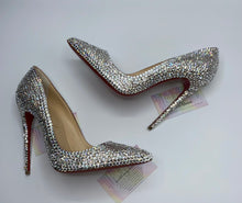 "Swarovski Crystal  ""So Kate"" Pointy Toe Louboutin Pumps"