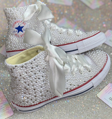 Original White High Top Style