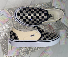 Classic Vans With Jet Black & Crystals