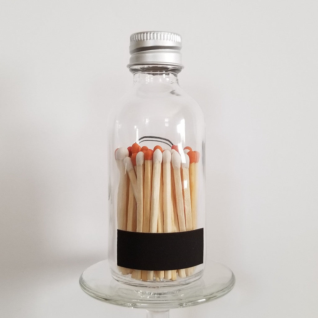 Match Bottle - Colored Tip Safety Matchsticks