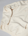 Kapatid - Made in Japan Hoodie in Cream - Detail Sleeve