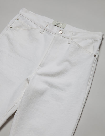 Kapatid - Trouser in Denim - Made in the USA - Detail