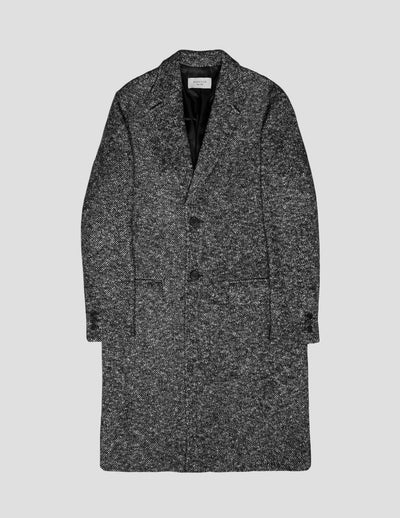 Kapatid - Salt and Pepper Coat Men's - Made in the USA - Front