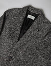 Kapatid - Salt and Pepper Coat Men's  - Made in the USA - Detail