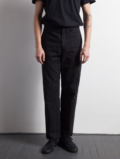Kapatid - Men's Chalk Stripe Trousers  - Made in the USA - Model