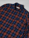 Kapatid - Wide Plaid Shirt - Made in the USA - Detail