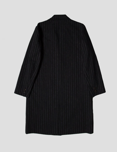 Kapatid - Chalk Stripe Top Coat  - Made in the USA - Back