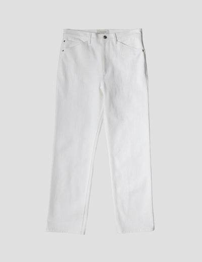 Kapatid - Trouser in Denim - Made in the USA - Front