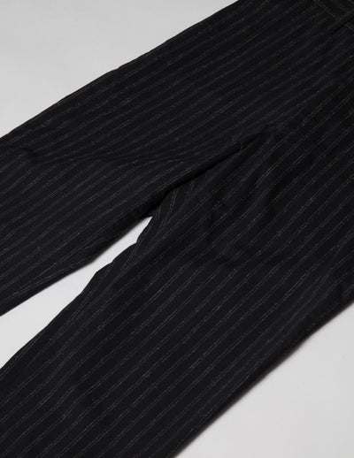 Kapatid - Men's Chalk Stripe Trousers  - Made in the USA - Detail