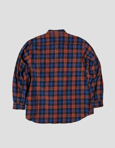 Kapatid - Wide Plaid Shirt - Made in the USA - Front - Back