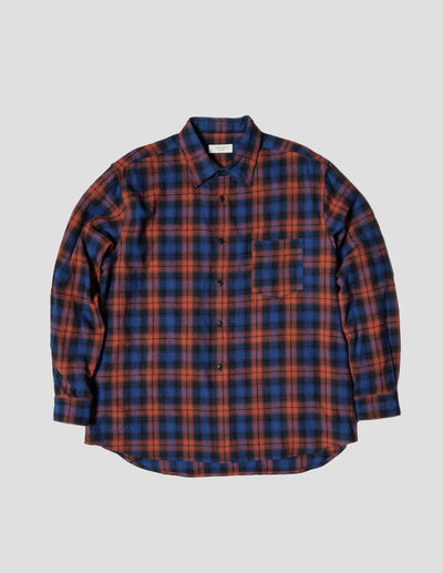Kapatid - Wide Plaid Shirt - Made in the USA - Front