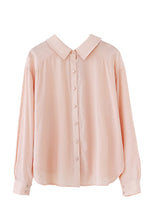 NBRAND Lapel Long-Sleeve Shirt - NBRANDFASHION.COM