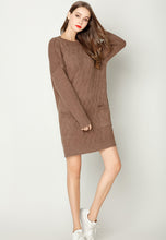 NBRAND Long Sleeve Knit Dress - NBRANDFASHION.COM