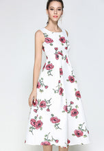 NBRAND Jacquard Sleeveless Dress - NBRANDFASHION.COM