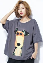 NBRAND Cartoon Big Size Short Bat Sleeve T-Shirt - NBRANDFASHION.COM