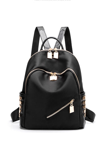 Stylish Double Strap Travel Backpack