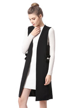NBRAND Beads Solid color Vest Jacket - NBRANDFASHION.COM