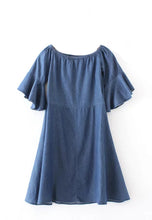 NBRAND Loose Denim One-Piece Dress - NBRANDFASHION.COM