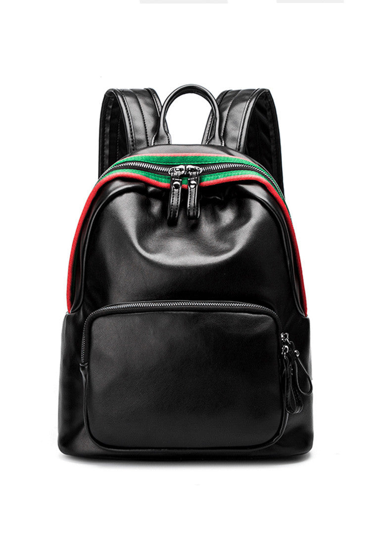 NBRAND College Style Double Strap Backpack - NBRANDFASHION.COM