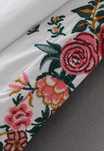 Shoulder Sleeve Embroidery Long-Sleeve Shirt