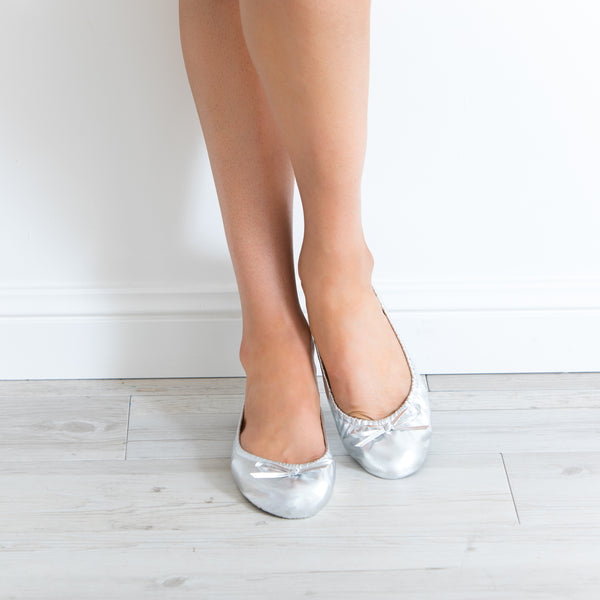 Foldable Wedding Ballet Flats