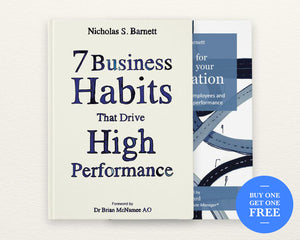 2 Book Bundle - 7 Business Habits & GPS For Your Organisation