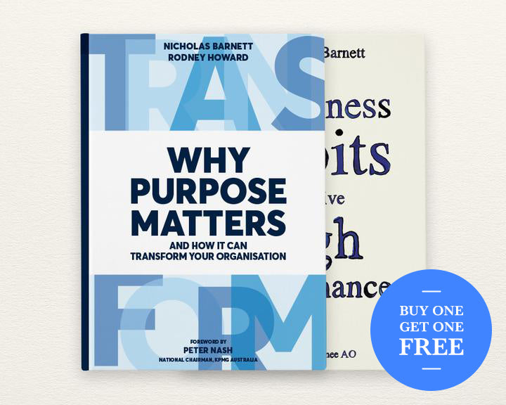 2 Book Bundle – Why Purpose Matters & 7 Business Habits