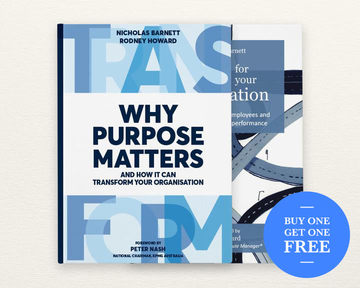 2 Book Bundle – Why Purpose Matters & GPS For Your Organisation