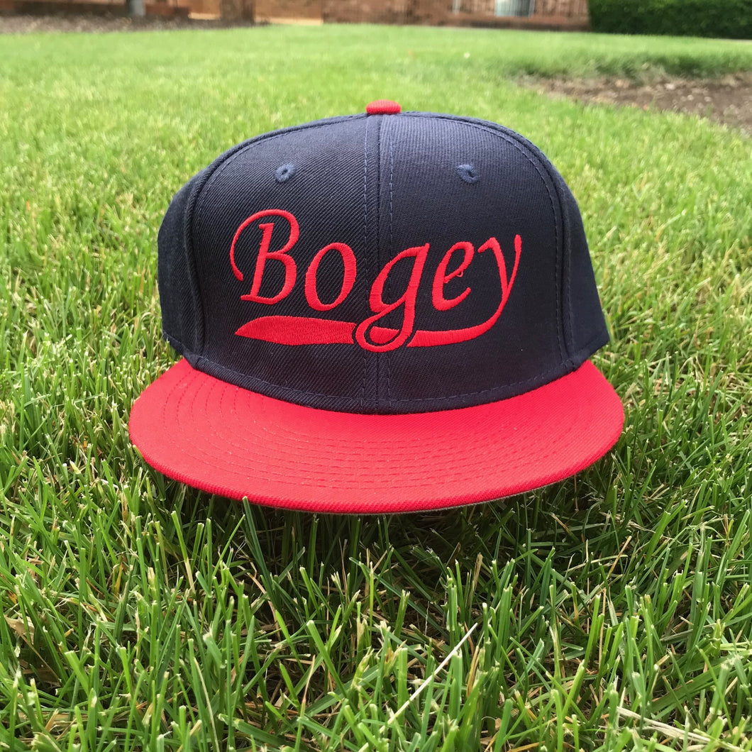 a4381e138 Bogey Classic Red/Navy Snapback Hat | Bogey Is Life | Bogey Is Life ...