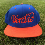 Birdie Classic Orange/Blue Golf Snapback Hat