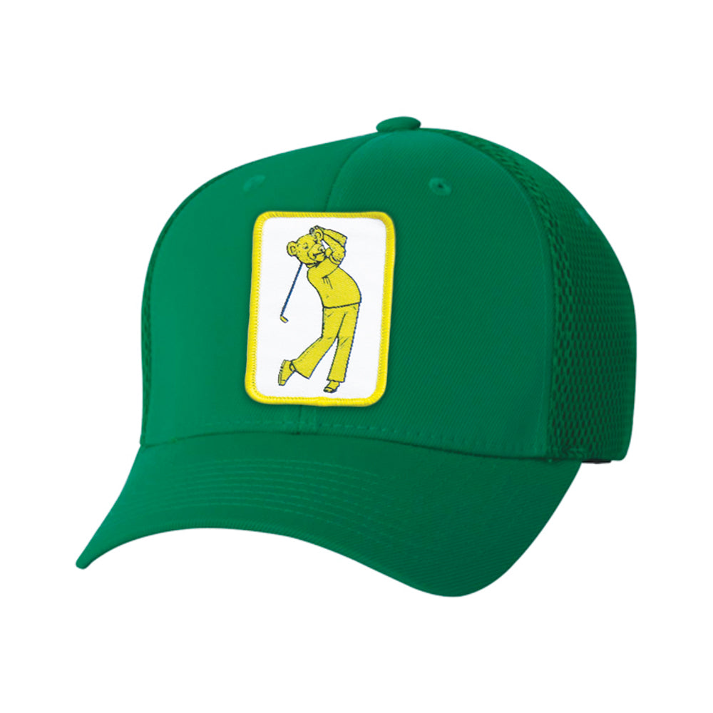 NEW! AmaTOUR Flex Performance Series Jackie Bear Hat - Bogey Is Life - Golf Polos