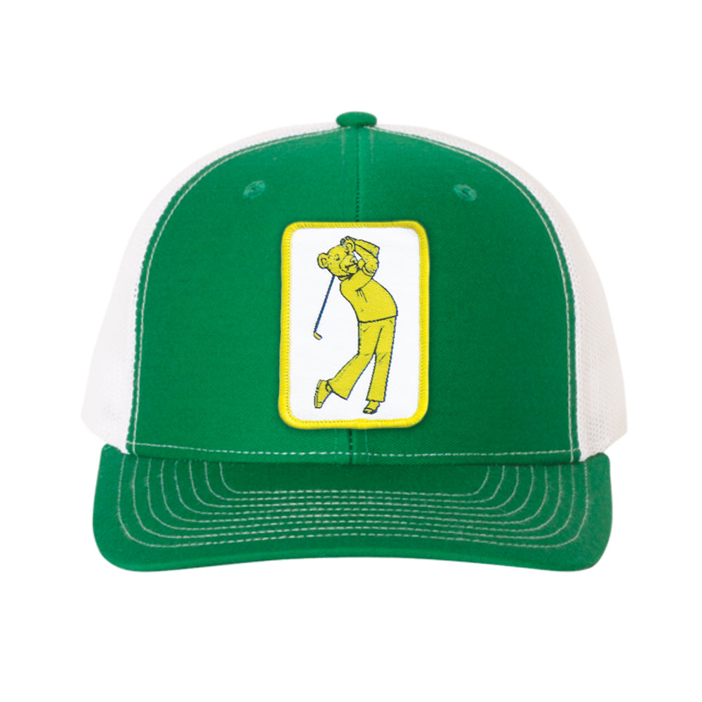 NEW! AmaTOUR Pro Series Jackie Bear Hat - Bogey Is Life - Golf Polos
