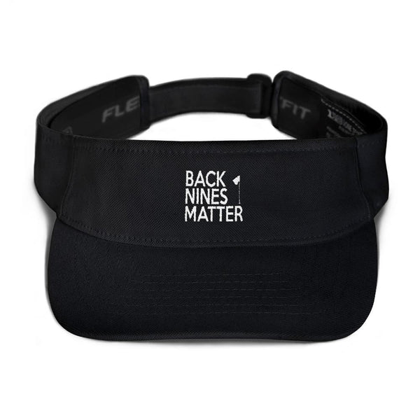 Back Nines Matter Golf Visor - Bogey Is Life - Golf Polos