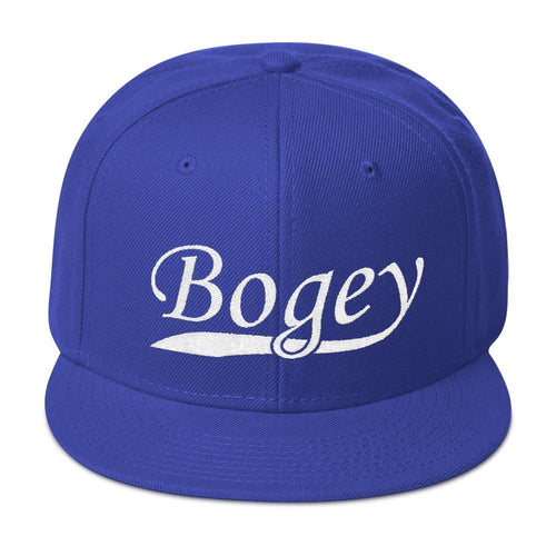 Classic Bogey Snapback Hat - Bogey Is Life - Golf Polos