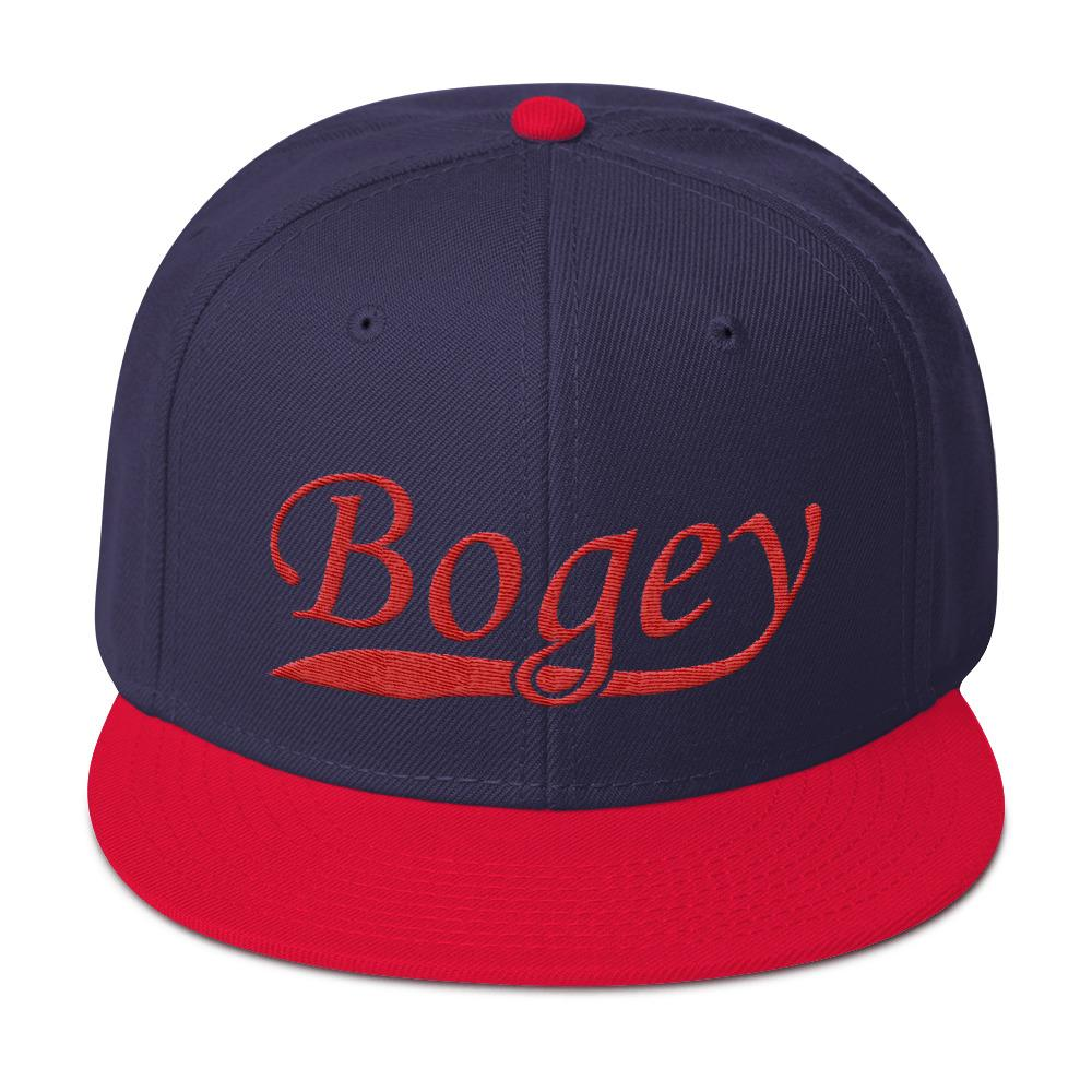 0a366a3bb Bogey Classic Red/Navy Snapback Hat
