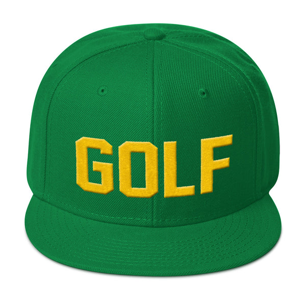 Real Golfer Snapback Hat - Bogey Is Life - Golf Polos