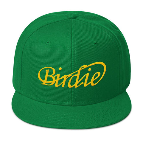 The Green (head) Jacket Snapback Hat