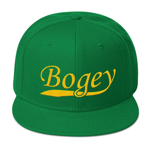 Left it Short Snapback Hat - Bogey Is Life - Golf Polos