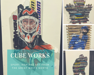 CubeWorks: Sport Inspired Art From The Great White North