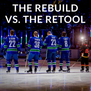 The Rebuild vs. The Retool. The Canucks are in Troubled Waters.