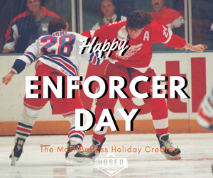 Honoring the Real Bad Boys: The 1st Annual Enforcer Day